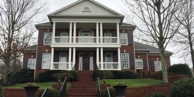 Exterior white paint on porch, balcony, roof - Residential painting by Nash Painting Nashville TN