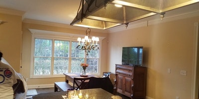 Tan colored kitchen - Residential painting by Nash Painting Nashville TN