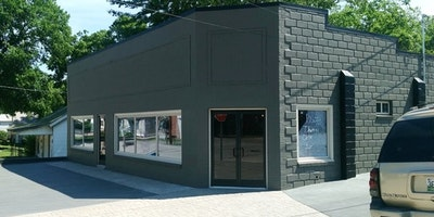 Exterior black brick painting - Residential painting by Nash Painting Nashville TN