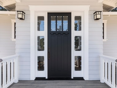 Refinished door in Franklin, Tennessee